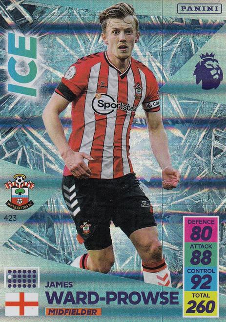 #423 James Ward-Prowse (Southampton) Adrenalyn XL Premier League 2021/22 ICE