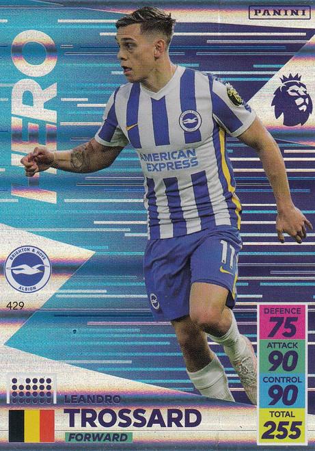 #429 Leandro Trossard (Brighton & Hove Albion) Adrenalyn XL Premier League 2021/22 HERO