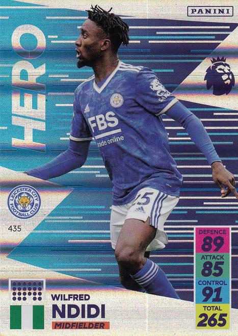 #435 Wilfred Ndidi (Leicester City) Adrenalyn XL Premier League 2021/22 HERO