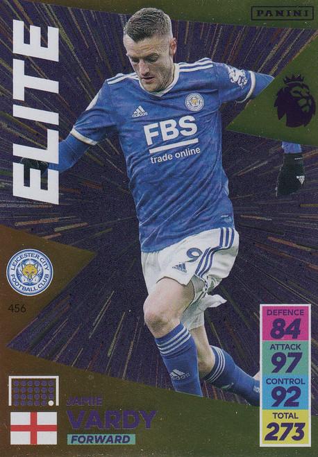 #456 Jamie Vardy (Leicester City) Adrenalyn XL Premier League 2021/22 ELITE