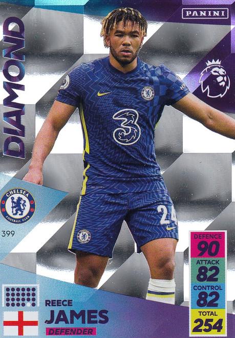 #399 Reece James (Chelsea) Adrenalyn XL Premier League 2021/22 DIAMOND