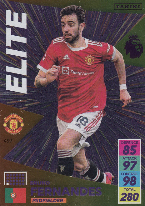#459 Bruno Fernandes (Manchester United) Adrenalyn XL Premier League 2021/22 ELITE