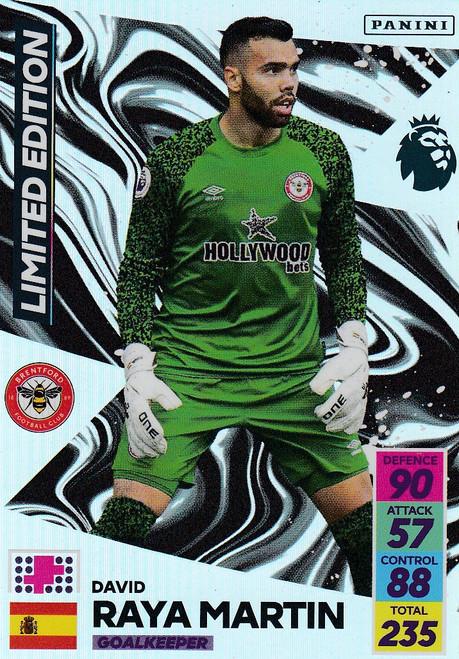 David Raya Martin (Brentford) Adrenalyn XL Premier League 2021/22 LIMITED EDITION