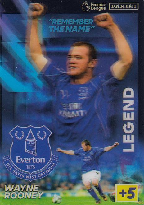 Wayne Rooney (Everton) Adrenalyn XL Premier League 2021/22 LIMITED EDITION