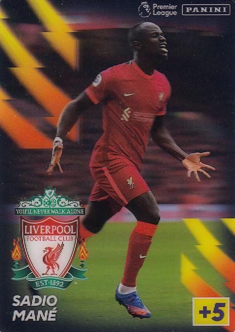 Sadio Mané (Liverpool) Adrenalyn XL Premier League 2021/22 LENTICULAR
