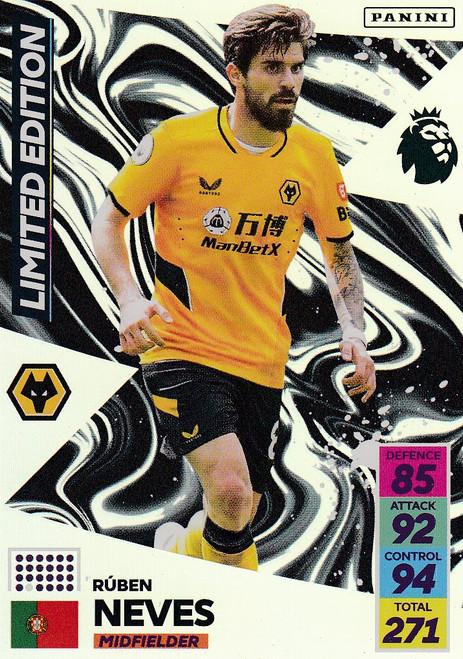 Rúben Neves (Wolverhampton Wanderers) Adrenalyn XL Premier League 2021/22 LIMITED EDITION