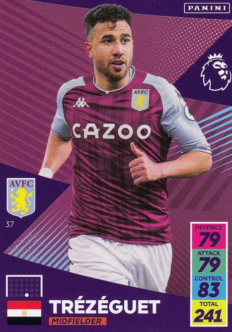 #37 Trézéguet  (Aston Villa) Adrenalyn XL Premier League 2021/22