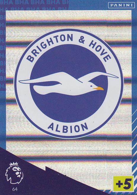 #64 Club Badge (Brighton & Hove Albion) Adrenalyn XL Premier League 2021/22