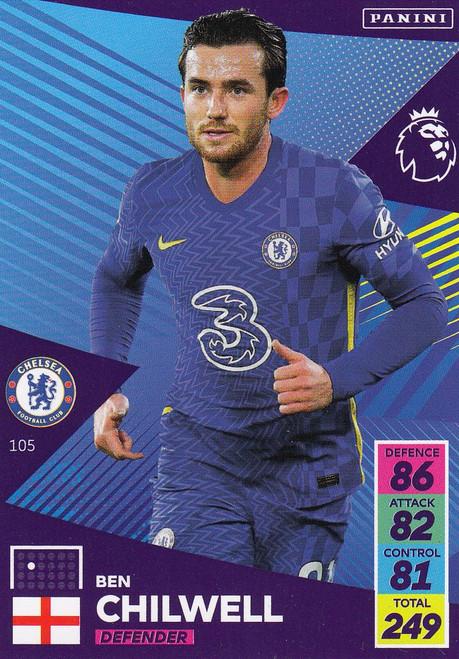 #105 Ben Chilwell (Chelsea) Adrenalyn XL Premier League 2021/22