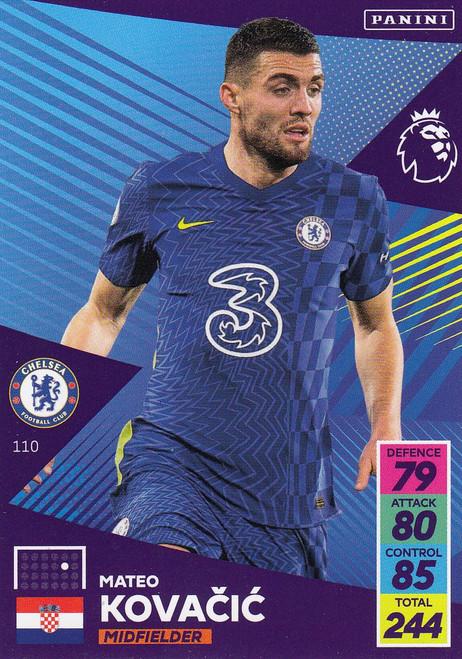 #110 Mateo Kovačić (Chelsea) Adrenalyn XL Premier League 2021/22