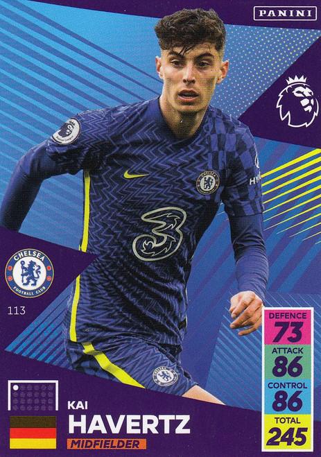 #113 Kai Havertz (Chelsea) Adrenalyn XL Premier League 2021/22