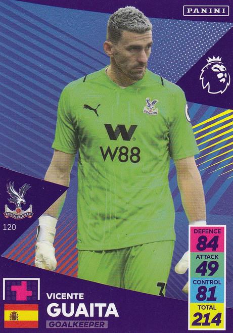 #120 Vicente Guaita (Crystal Palace) Adrenalyn XL Premier League 2021/22