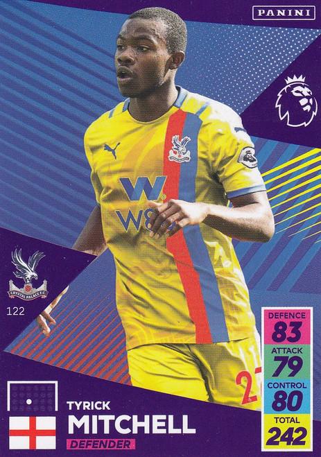 #122 Tyrick Mitchell (Crystal Palace) Adrenalyn XL Premier League 2021/22