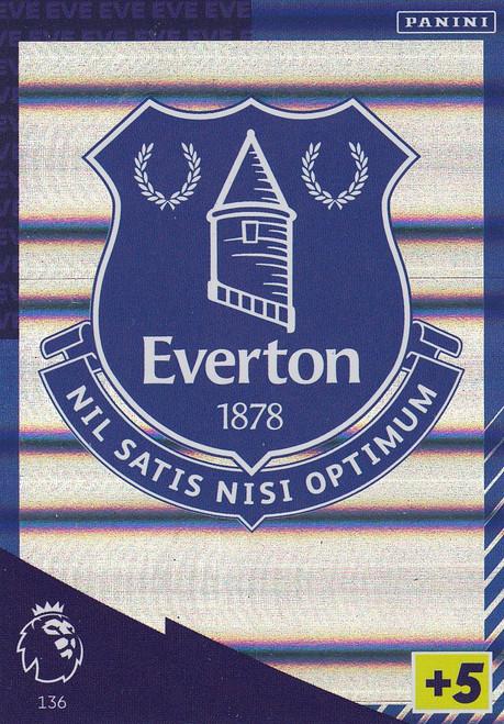 #136 Club Badge (Everton) Adrenalyn XL Premier League 2021/22