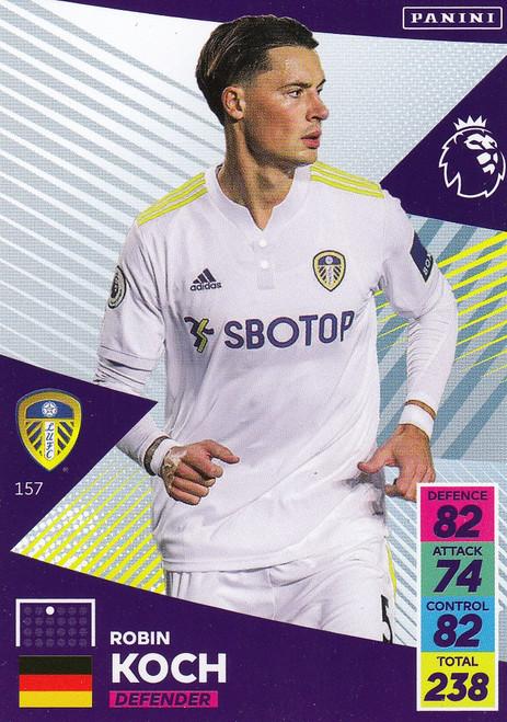 #157 Robin Koch (Leeds United) Adrenalyn XL Premier League 2021/22