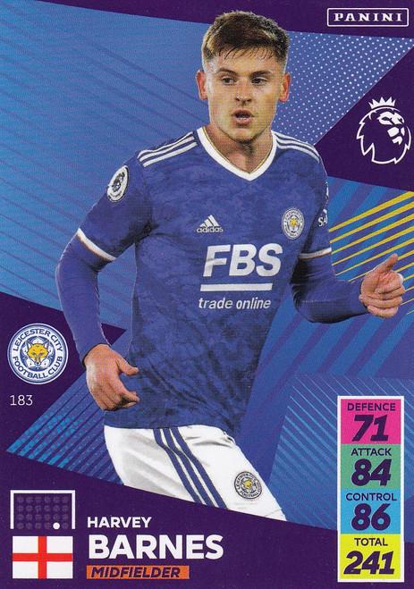 #183 Harvey Barnes (Leicester City) Adrenalyn XL Premier League 2021/22