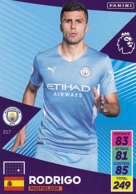 #217 Rodrigo (Manchester City) Adrenalyn XL Premier League 2021/22