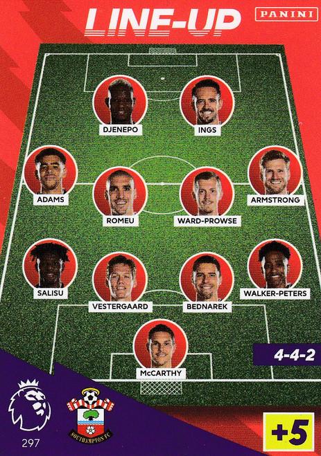 #297 Line-Up (Southampton) Adrenalyn XL Premier League 2021/22