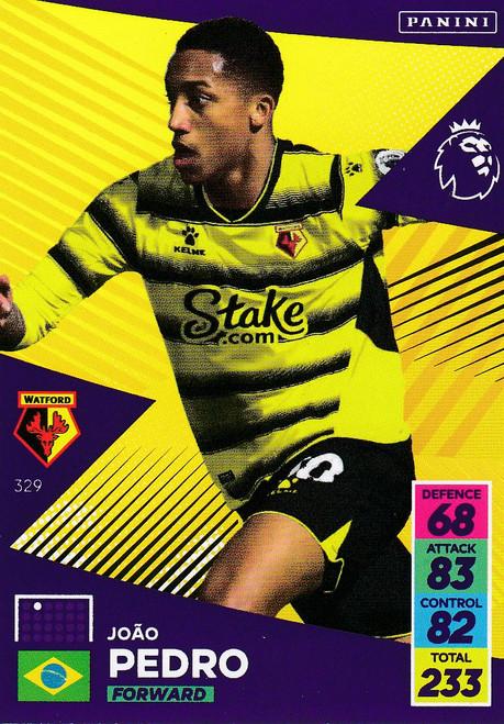 #329 João Pedro (Watford) Adrenalyn XL Premier League 2021/22