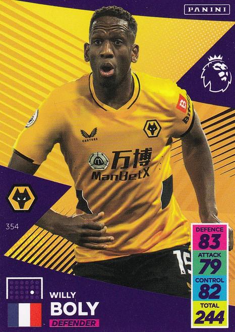 #354 Willy Boly (Wolverhampton Wanderers) Adrenalyn XL Premier League 2021/22