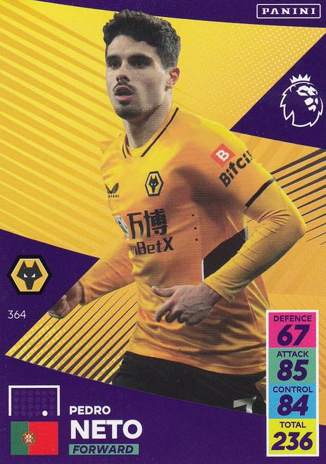 #364 Pedro Neto (Wolverhampton Wanderers) Adrenalyn XL Premier League 2021/22