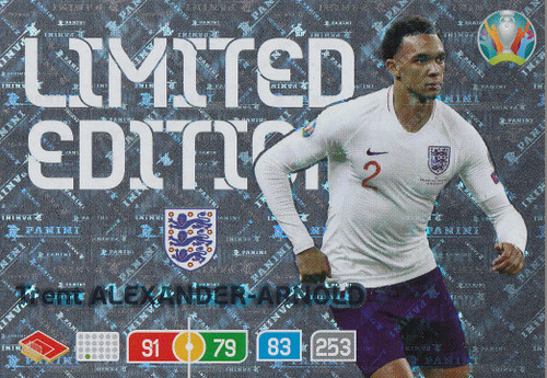 Trent Alexander-Arnold (England) Adrenalyn XL Euro 2020 LIMITED EDITION