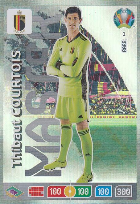 #1 Thibaut Courtois (Belgium) Adrenalyn XL Euro 2020 RARE