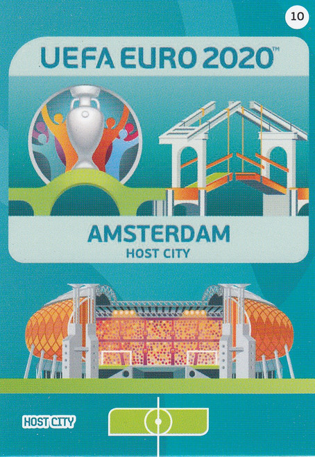 #10 Amsterdam (Netherlands)  Adrenalyn XL Euro 2020 HOST CITY
