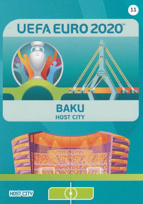 #11 Baku (Azerbaijan)  Adrenalyn XL Euro 2020 HOST CITY