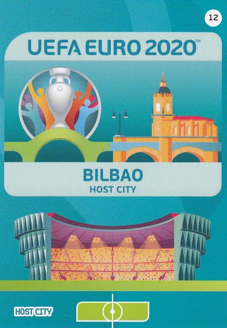 #12 Bilbao (Spain)  Adrenalyn XL Euro 2020 HOST CITY