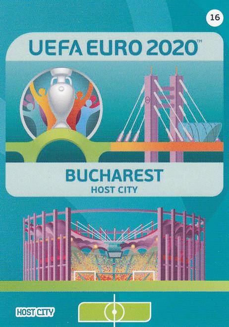 #16 Bucharest (Romania) Adrenalyn XL Euro 2020 HOST CITY