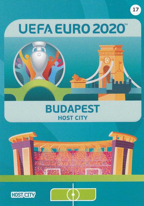 #17 Budapest (Hungary) Adrenalyn XL Euro 2020 HOST CITY