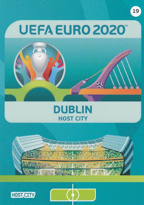 #19 Dublin (Republic of Ireland) Adrenalyn XL Euro 2020 HOST CITY