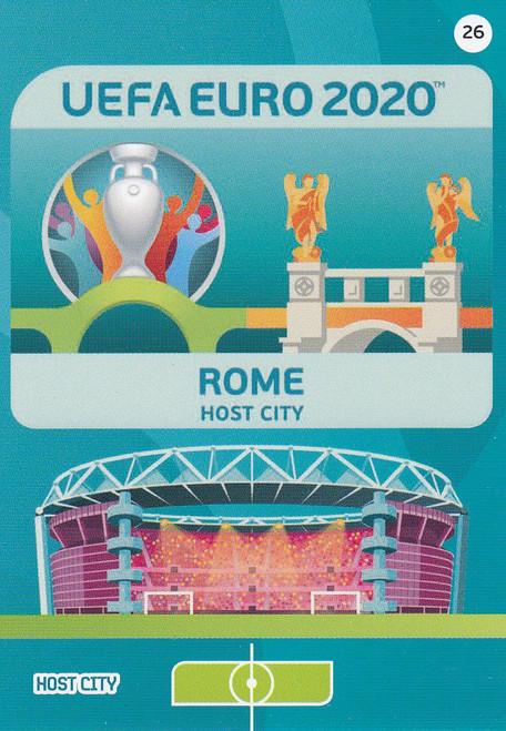 #26 Rome (Italy) Adrenalyn XL Euro 2020 HOST CITY