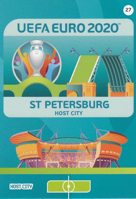#27 Saint Petersburg (Russia) Adrenalyn XL Euro 2020 HOST CITY