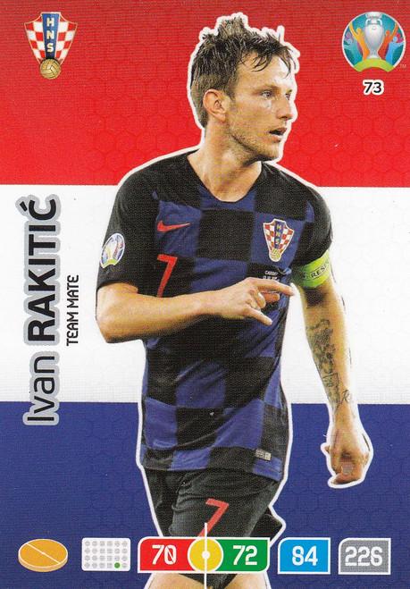 #73 Ivan Rakitic (Croatia) Adrenalyn XL Euro 2020