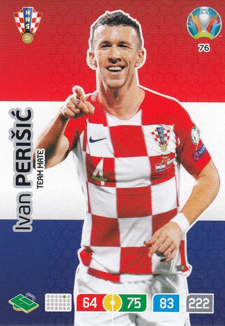 #76 Ivan Perisic (Croatia) Adrenalyn XL Euro 2020