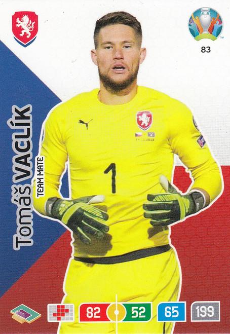 #83 Tomas Vaclik (Czech Republic) Adrenalyn XL Euro 2020