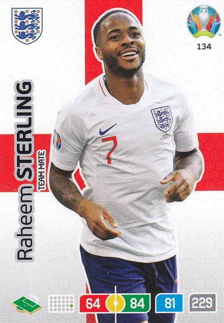 #134 Raheem Sterling (England) Adrenalyn XL Euro 2020