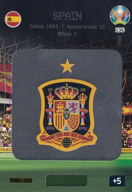 #136 Spain Logo Adrenalyn XL Euro 2020