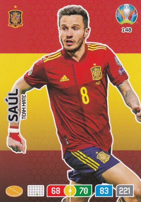 #148 Saul (Spain) Adrenalyn XL Euro 2020