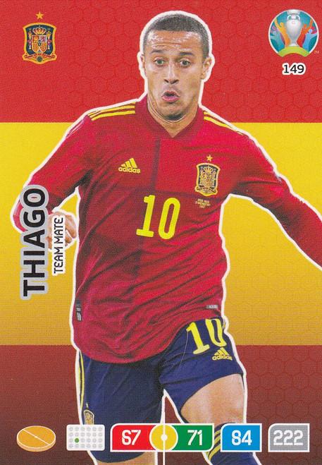 #149 Thiago (Spain) Adrenalyn XL Euro 2020