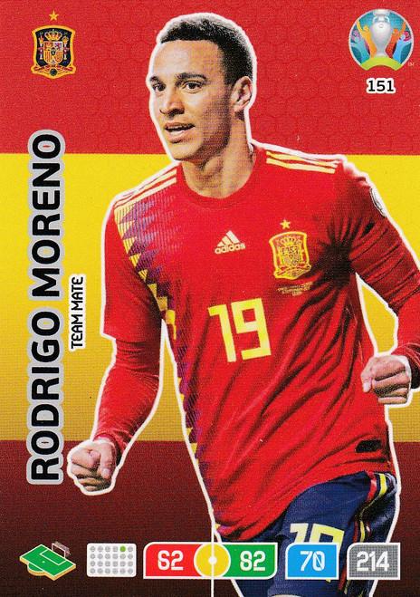 #151 Rodrigo Moreno (Spain) Adrenalyn XL Euro 2020