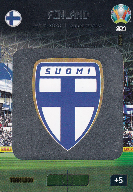 #154 Finland Logo Adrenalyn XL Euro 2020