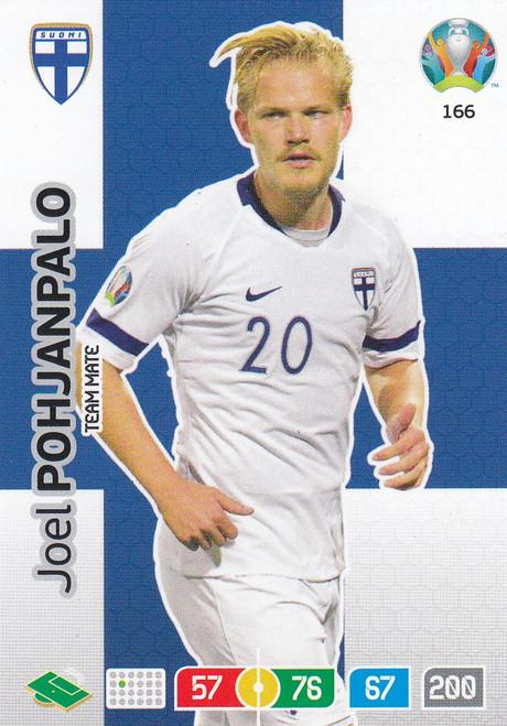 #166 Joel Pohjanpalo (Finland) Adrenalyn XL Euro 2020