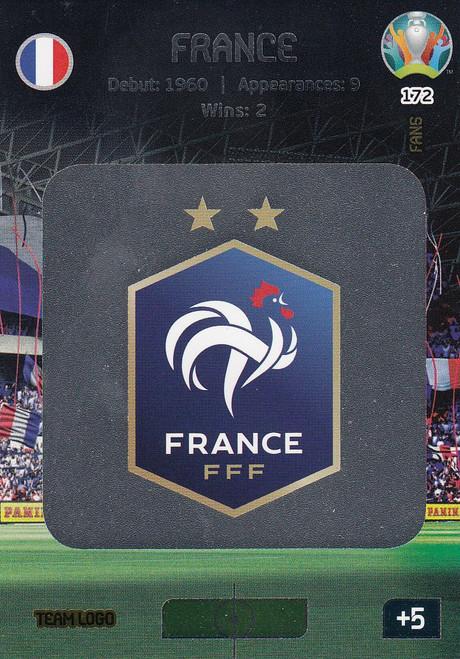 #172 France Logo Adrenalyn XL Euro 2020