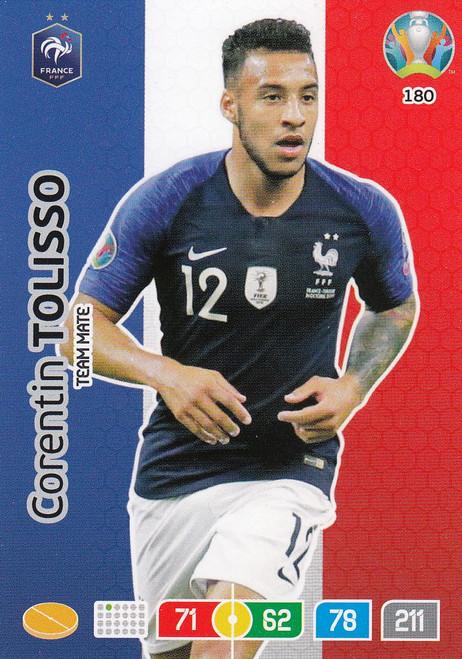 #180 Corentin Tolisso (France) Adrenalyn XL Euro 2020