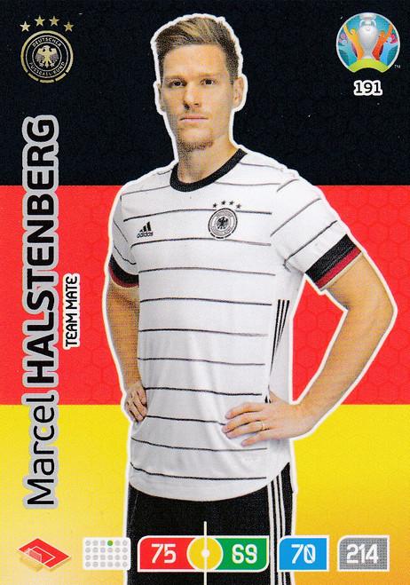 #191 Marcel Halstenberg (Germany) Adrenalyn XL Euro 2020