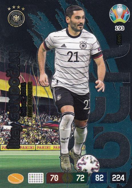 #193 Ilkay Gundogan (Germany) Adrenalyn XL Euro 2020 FANS FAVOURITE