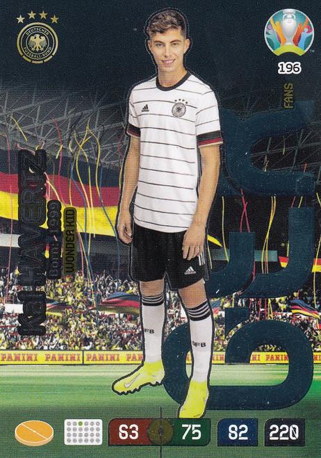 #196 Kai Havertz (Germany) Adrenalyn XL Euro 2020 WONDER KID